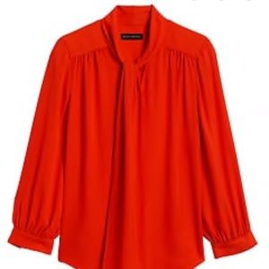 Nwot Orange/red blouse